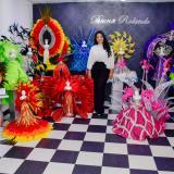 Vestidos en miniatura que rememoran a 25 reinas del Carnaval
