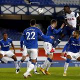 En video | Dávinson Sánchez marca doblete en el partidazo Everton-Tottenham