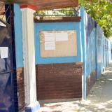 Entrada principal del Colegio Dolores Maria Ucrós.