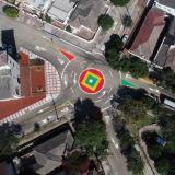 Implementan dos micro-intervenciones de tránsito en el norte de Barranquilla