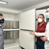 Distrito tiene congelador para almacenar vacunas
