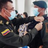 Director General de la Policía destaca el trabajo de los Goes en Sucre