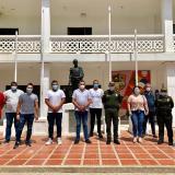 Pie de fuerza en Juan de Acosta se fortalece con 30 policías y seis motos
