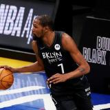 Kevin Durant, alero de los Brookly Nets.