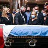 Políticos y ciudadanos despiden al expresidente argentino Menem