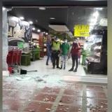 Investigan presunto atraco a un supermercado en el norte de Barranquilla