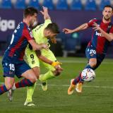 El Atlético de Madrid se frena ante un Levante aguerrido