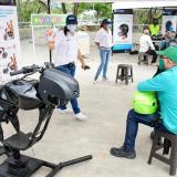 Distrito busca reducir índice de accidentalidad de motos