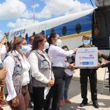 Llegan las primeras vacunas contra covid-19 a La Guajira