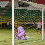 Las reacciones de Willer Ditta, Sebastián Viera, Dany Rosero y Marlon Piedrahíta al recibir el segundo gol.