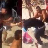 Batalla campal entre turistas y empleados de un restaurante en Playa Blanca
