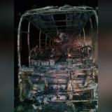 Bus interdepartamental se incendió en La Cordialidad