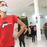 Milena Claro Torres, de 25 años, joven sorda amante de la cumbia, presentó su audición.