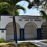 Fachada de la Unidad de Salud Uniatlántico.