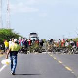Carretera Troncal del Caribe se encuentra cerrada desde este martes