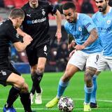 Manchester City no deja opción al Gladbach y pone pie y medio en cuartos
