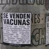 Aparecen carteles fraudulentos de venta de vacunas