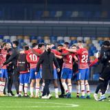 El Granada elimina al Napoli de Europa League: Suárez y Ospina no estuvieron
