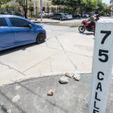 Intersección de la calle 75 con carrera 59.