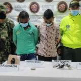 Capturan a presunto jefe de sicarios y a su escolta en Montelíbano