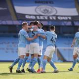 El Manchester City venció por 2-1 al West Ham.