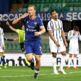Verona y la Juventus empatan por 1-1.