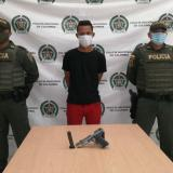 Brayan Gabriel Negrete Rojas, capturado.