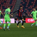 El Bolonia venció a la Lazio por 2-0.