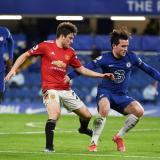 El encuentro entre el Chelsea y Manchester United finalizó en 0-0.