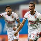 Manotas logró un empate por 1-1 para su equipo.