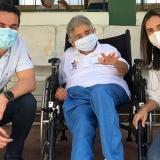 Inició vacunación anticovid en geriátricos de Montería