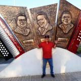Jorge Oñate, un día en el Parque La Provincia de Valledupar