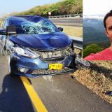 Muere ciclista arrollado por carro en la Vía al Mar