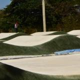 Estas son las pistas de BMX Daniel Eduardo Barragán Noguera, ubicadas en Villa Carolina