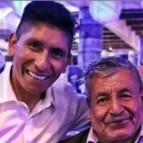 El padre de Nairo Quintana se recupera tras padecer la covid-19.