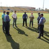 La vigilancia privada en escenarios deportivos de Cartagena comenzó este miércoles.