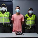 Capturan al presunto asesino de joven en el barrio Las Nieves
