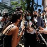 Gianinna Maradona, una de las hijas que Diego Maradona tuvo con su esposa Claudia Villafañe.