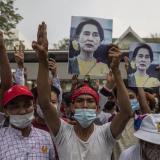Birmania sufre un apagón eléctrico en medio de protestas por golpe de Estado