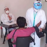 En Sucre vacunan contra la covid -19 a la primera reincorporada