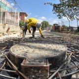 Los trabajos deben estar listos en un mes, dijo Transcaribe.