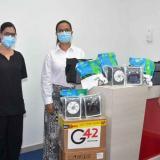 En medio de alerta roja entregan 23 ventiladores a clínicas de Santa Marta