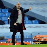 Pep Guardiola, furioso con el VAR