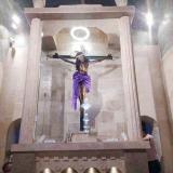 El Señor de los Milagros de San Benito estrena un nuevo nicho