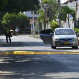 Reportan balacera en Villa Carolina