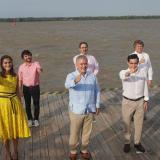 Alcalde y gobernadora entregan balance de la Asamblea del BID