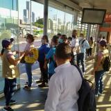 Transcaribe suspende su operación por actos vandálicos e indisciplina