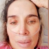 Actriz Luly Bossa fue dada de alta tras contagio de covid-19