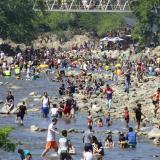No descartan cierre del balneario Hurtado por indisciplina social