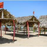 Caseteros dicen verse afectados con el cierre de las playas